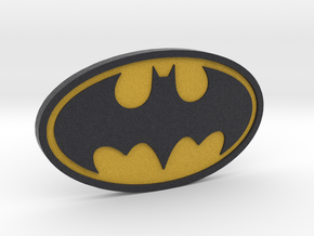 Classic Batman Logo in Full Color Sandstone