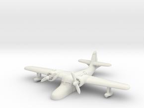 Grumman JRF-5 Goose (resting on water) 1/285 6mm in White Natural Versatile Plastic