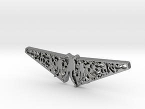 Zombie Filigree Pendant in Natural Silver