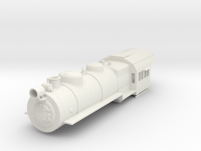 PRR H8/9/10 Boiler Shell S Scale in White Strong & Flexible