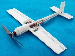 Blaze 3 3D Ultra Micro Hotliner RC Airplane in White Strong & Flexible