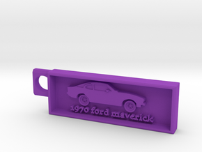 1970 Ford Maverick in Purple Processed Versatile Plastic