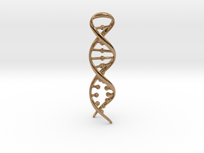 DNA RECONNECTION in Polished Brass