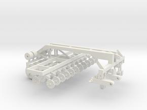 1/64 No - Till Cart Kit in White Strong & Flexible