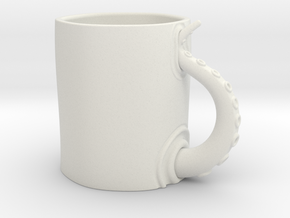 Oct Mug in White Natural Versatile Plastic
