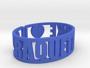 Raquette Lake Cuff in Blue Processed Versatile Plastic