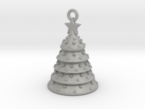 Aluminum Christmas Tree Ornament With Moving Parts in Aluminum