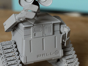 WALL-E in Smooth Fine Detail Plastic