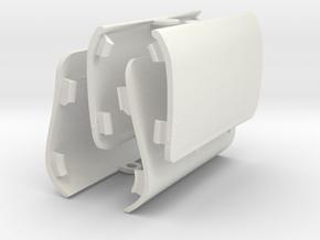 Saab 9-3 Viggen Jack Covers - Full Set Of 4 in White Natural Versatile Plastic