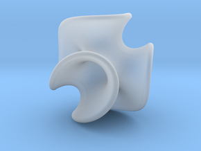 Chen-Gackstatter Surface in Smooth Fine Detail Plastic