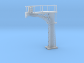 Cantilever Block Signal - N 160:1 Scale in Smooth Fine Detail Plastic