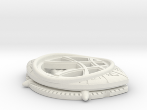 Eye Of Agamotto in White Natural Versatile Plastic