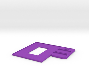 Trooper Fighter Control Panel in Purple Processed Versatile Plastic