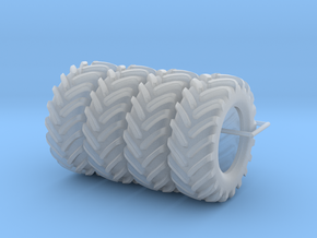 Floater Tires in Smooth Fine Detail Plastic