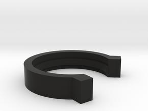 3i Scope Retract Prevention Ring in Black Natural Versatile Plastic