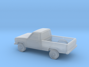1/87 1983-88 Ford Ranger Reg Cab in Smooth Fine Detail Plastic