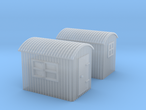 (1:450) GWR Lineside Huts #1 in Smooth Fine Detail Plastic
