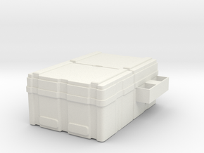 Power Loader crate 1:6 scale in White Natural Versatile Plastic