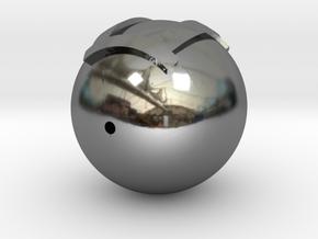 Model-6ae642d0a555aa76d9d2bd1e2d769c2a in Fine Detail Polished Silver