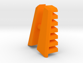 M.A.S.K. Gator Speedboat Air Intake Fins in Orange Processed Versatile Plastic