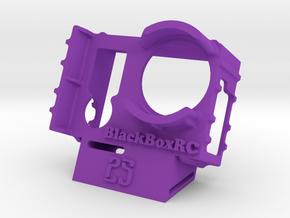 ExoPro GoPro 3 & 4 WEDGE Case (25deg) in Purple Strong & Flexible Polished