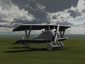 Nieuport 16 in White Strong & Flexible: 1:144