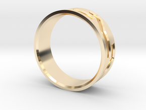 Mosaic Ring in 14K Yellow Gold