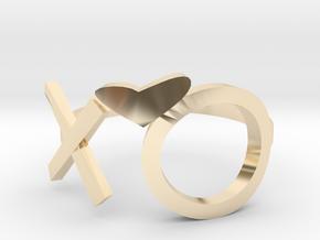 The Weeknd XO Midi Ring in 14K Yellow Gold