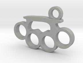 Knuckle Pendant in Aluminum