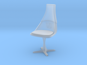 """TOS Chair 115 1:18 Scale 4"""" in Smooth Fine Detail Plastic"""