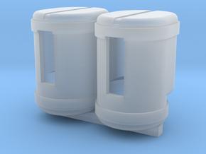 2 200 gallon saddle tanks in Smooth Fine Detail Plastic