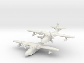 Grumman J4F Widgeon (two airplanes) 6mm 1/285 in White Natural Versatile Plastic