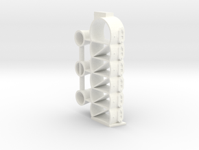 MERCURY MARK 75 6-CYLINDER - BLOCK 1 in White Strong & Flexible Polished