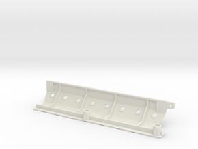 Skid plate left Adventure D110 Gelande 1:10 in White Natural Versatile Plastic