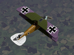Albatros D.III in White Strong & Flexible: 1:144