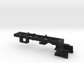 Part C-4 Chassis Frame F in Black Natural Versatile Plastic