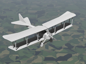 Albatros B.I (Benz Bz.III) in White Strong & Flexible: 1:144