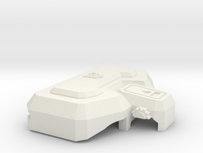 Professor Sharpshooter's Strengthened Chest Plate in White Strong & Flexible