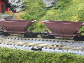 Fammoorr 050 N scale in White Natural Versatile Plastic