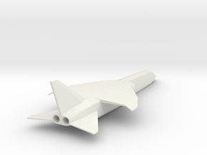 1/144 BAC TSR 2 TACTICAL STRIKE/ RECON in White Natural Versatile Plastic