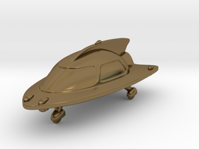 Space Car 2 in Polished Bronze