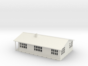 n scale house in White Natural Versatile Plastic