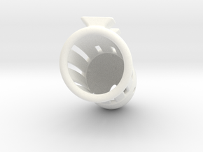 L100-A01A in White Strong & Flexible Polished