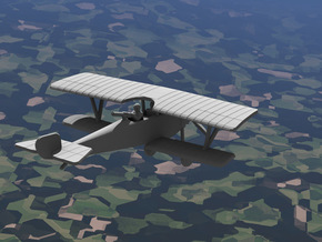 Nieuport 12 in White Strong & Flexible: 1:144