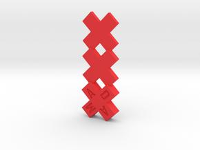 Amsterdam Beeldje XXX amsterdammertje in Red Processed Versatile Plastic