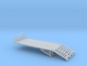 1/50th Beavertail ramp bed fire farm construction in Smooth Fine Detail Plastic