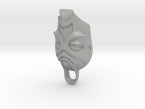 Dragon Priest Mask KeyChain in Aluminum