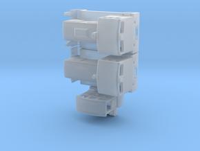 V10B, V15B, Breuer Schienentr. (1/200) für Spur Z in Frosted Ultra Detail