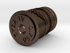 0.750 Bolter Casing in Polished Bronze Steel