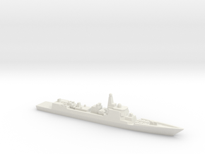 Type 052C Destroyer, 1/3000 in White Strong & Flexible